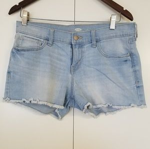 Old Navy Acid Wash Denim Shorts